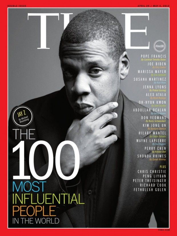 JAY Z COVERS @Timothy Eccleston MAGAZINE'S 'THE 100 MOST #INFLUENTIALPEOPLE IN THE WORLD' ISSUE@S_C_