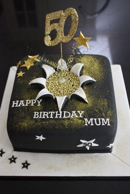 Th Birthday Cake Cakes Th Birthday Pinterest Birthday - 50 birthday cake designs
