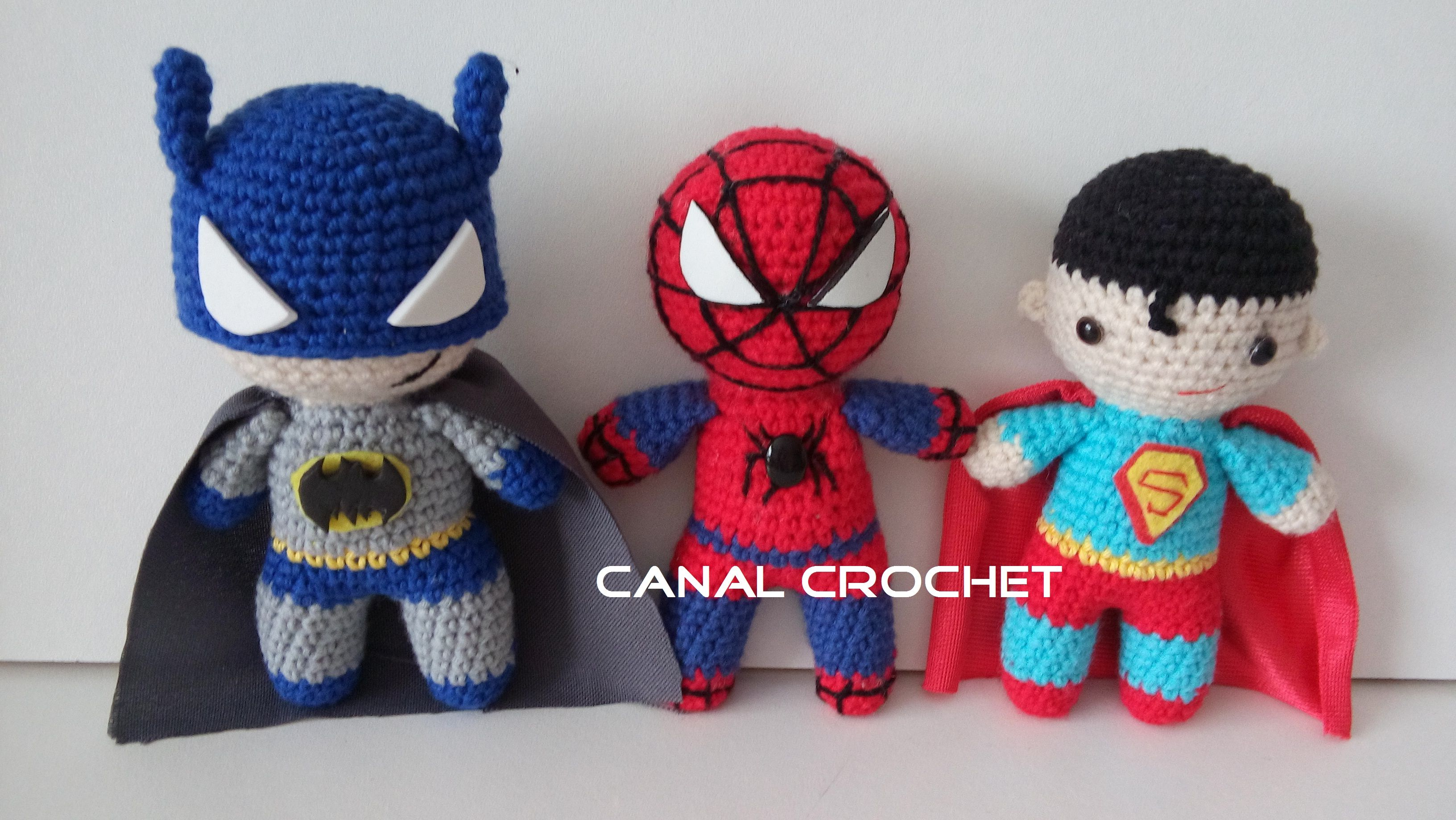 Único Patrón De Crochet Libre Del Hombre Araña Colección de Imágenes ...