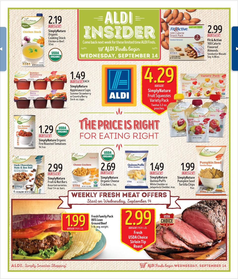 Aldi In Store Ad September    HttpWwwOlcatalogCom