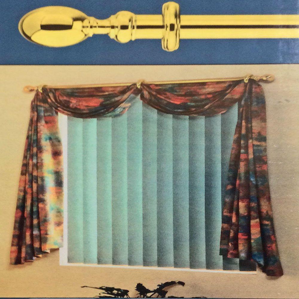 Regatta Swag N Tails Pole Set Curtains Decorative Curtain Rods