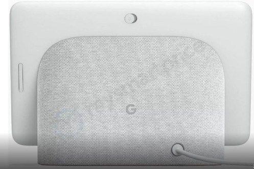 Google Home Hub des images ont fuité sur