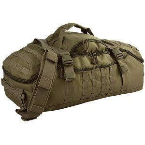 The Red Rock Outdoor Gear Traveler Duffle Bag, Olive Drab