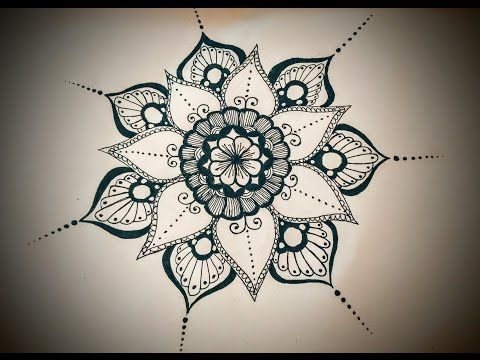 Flower Mandala Coloring Pages Youtube Designs Trend