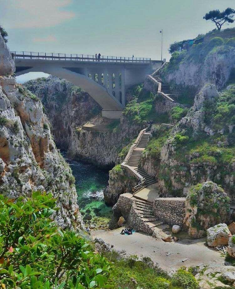 Ponte Ciolo Gagliano Del Capo Puglia Puglia Italia Viaggiare
