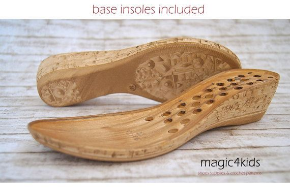 77bebee57a1 WEDGES SOLES with insoles high quality very light by magic4kids ...