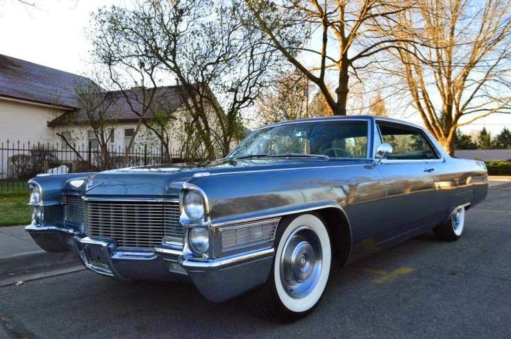 1965 Cadillac Coupedeville Voitures Pinterest Cadillac