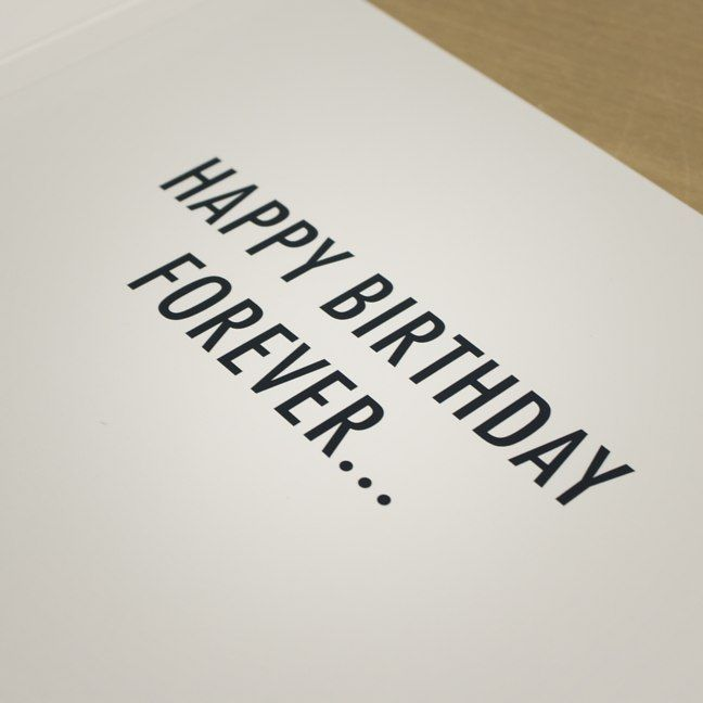 Never ending birthday card firebox shop for the unusual never ending birthday card bookmarktalkfo Gallery