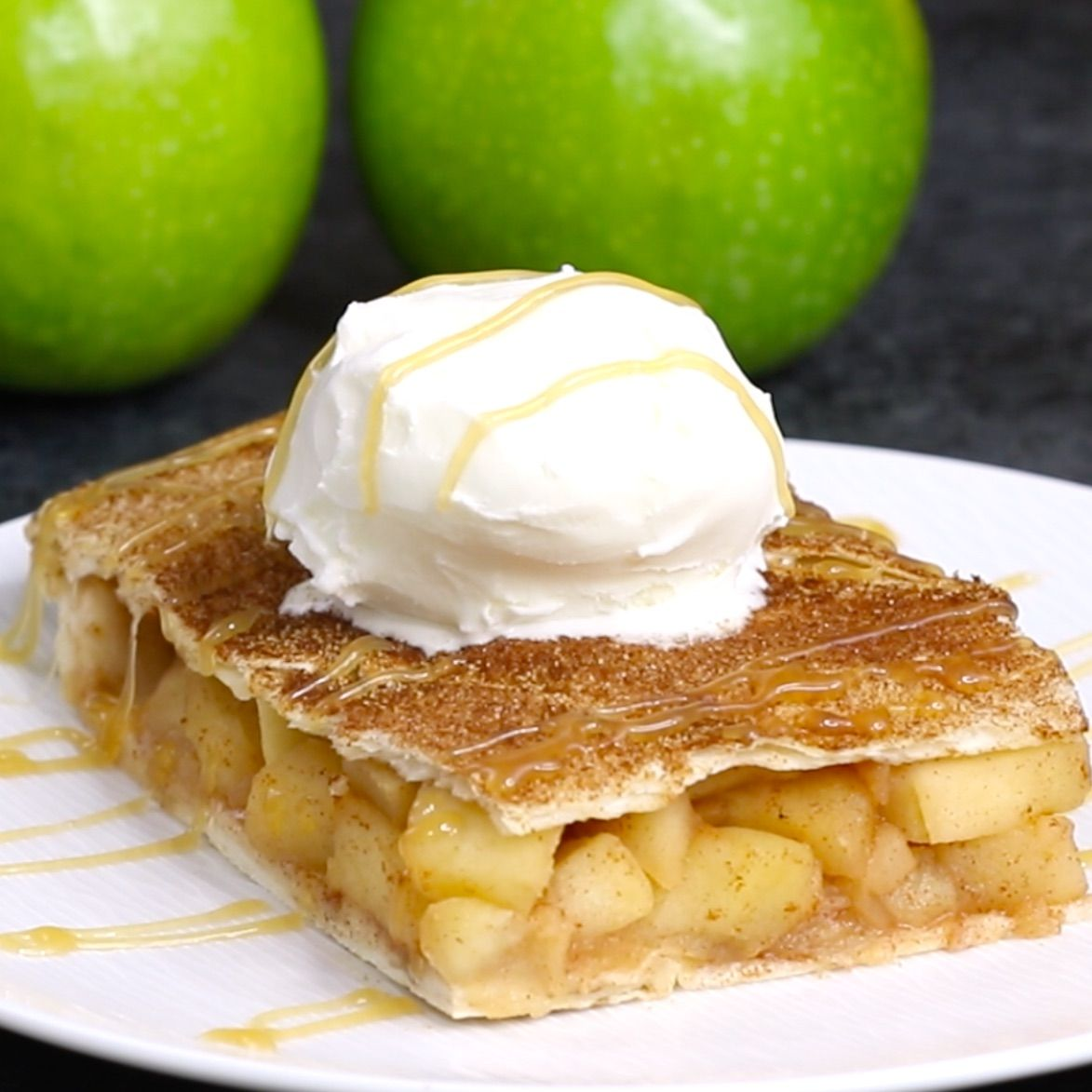 Sheet Pan Apple Pie Bake Is Perfect When You Need A