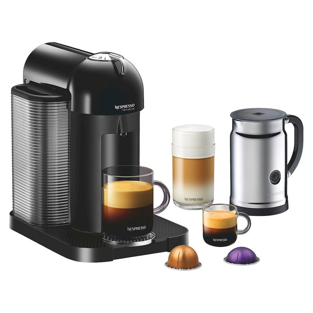 Nespresso Vertuoline Coffee And Espresso Machine Bundle Black Coffee And Espresso Maker Nespresso Coffee Machine