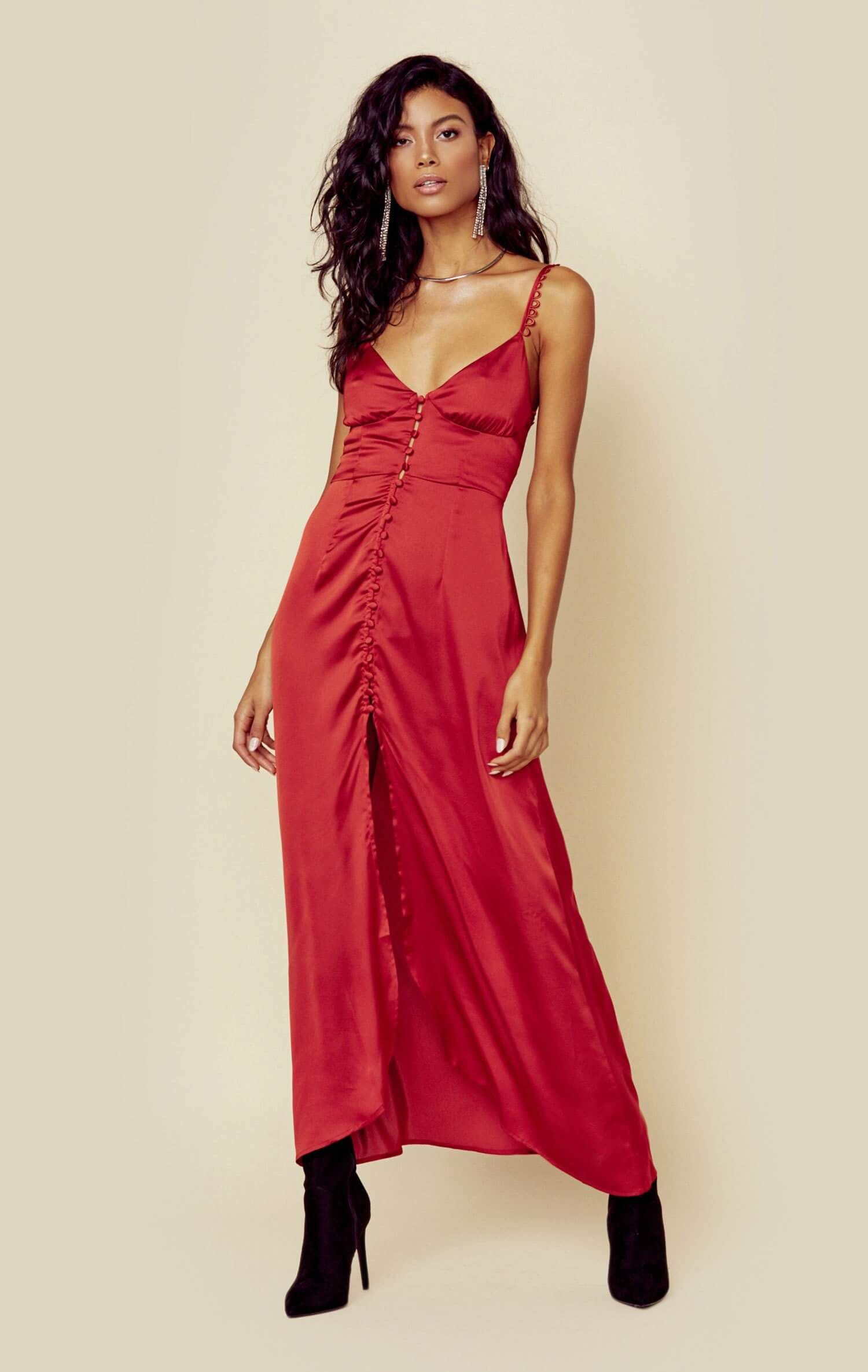 75b15136fe Isabella button up maxi in 2019