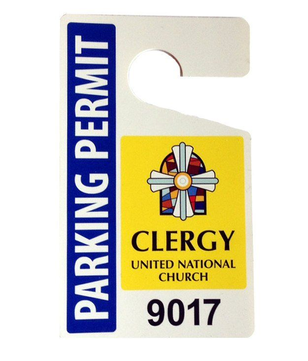 Minister Parking Permit Permit The Unit Minister