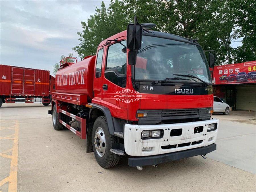 Isuzu Ftr 12 Ton To 15 Ton Water Bowser Truck Trucks Engine Tank Water Tank Truck
