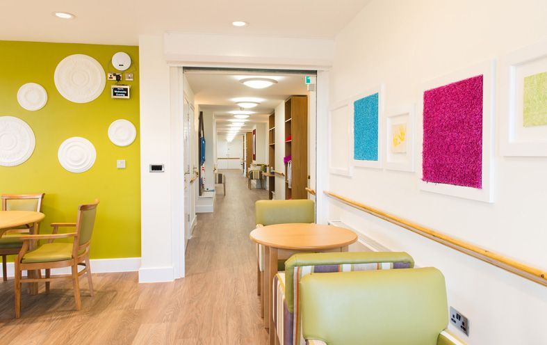 Crave Id Fairways Dementia Care Home Lounge And Hallway
