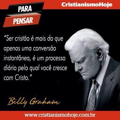 #BillyGraham, #evangelho, #cristianismo