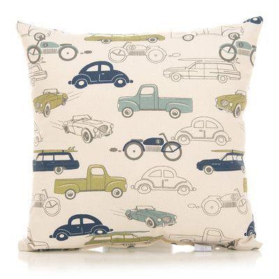 Sweet Potato By Glenna Jean Uptown Traffic Throw Pillow