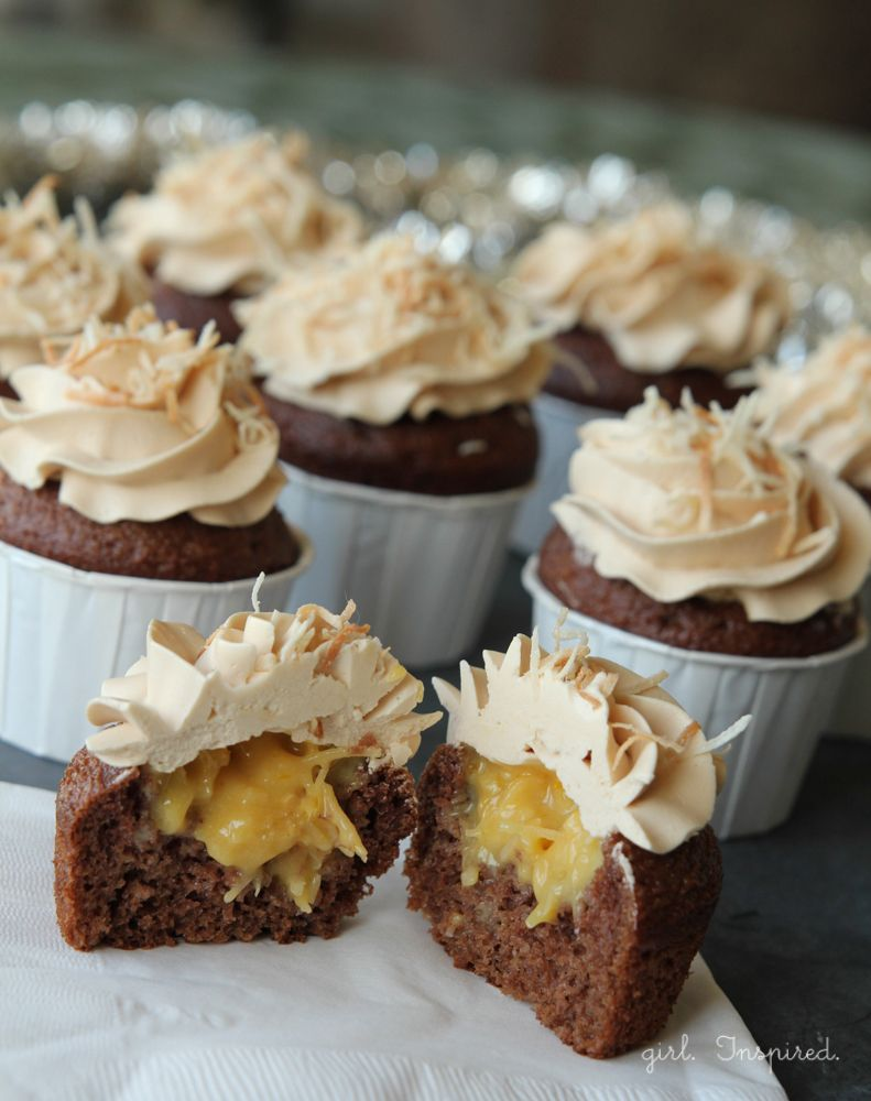 Best 25 German Chocolate Cupcakes Ideas On Pinterest