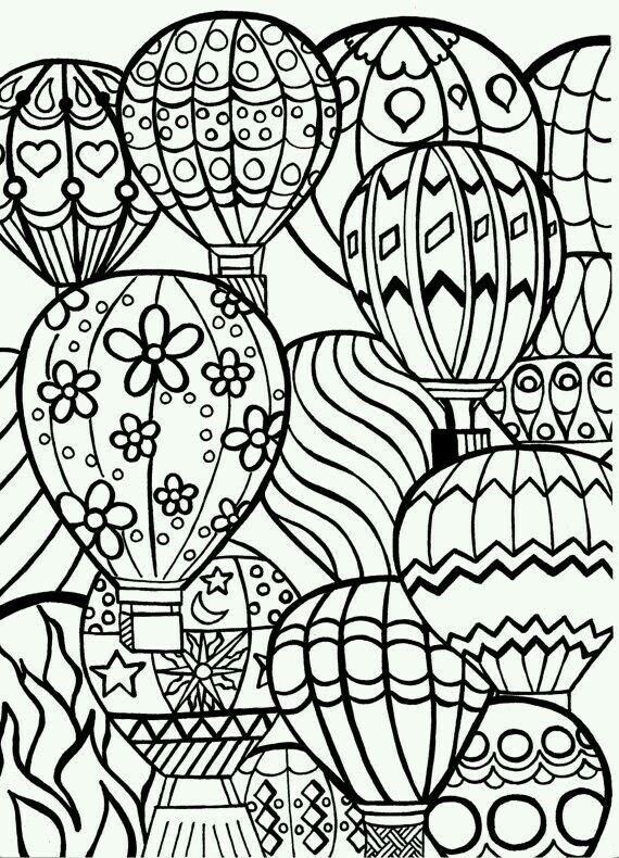 Globos Dibujo Actividades Aula Colores Dibujos Para