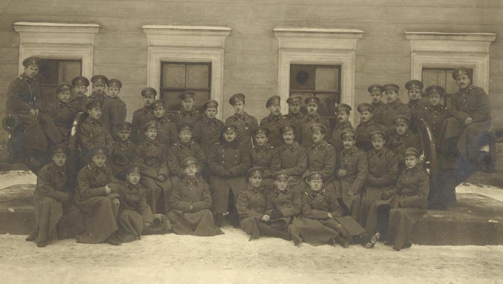 1916 год выпуска — Музей-галерея — Клуб выпускников ...