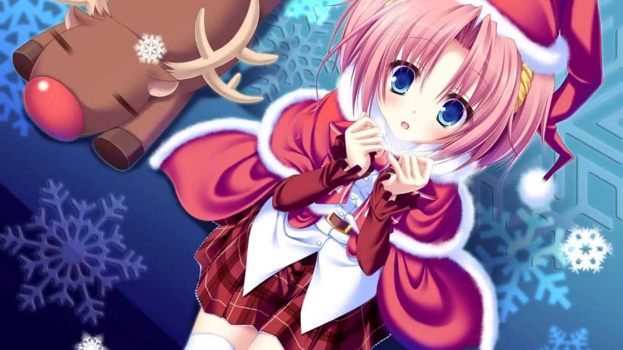 Nightcore Last Christmas Remix Lyrics Anime Christmas Anime Anime Wallpaper