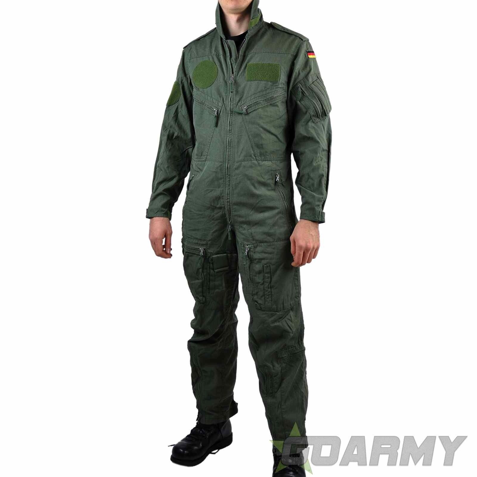 German Airforce Flight Suit Olive  e9b8a8075b3