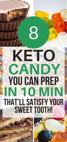 Twix? Snickers? Gummies? These keto candy copycats are THE BEST! I'm so glad I found these easy to make keto candy recipes. Now I have some some great keto candy recipes to satisfy my cravings for sweets!