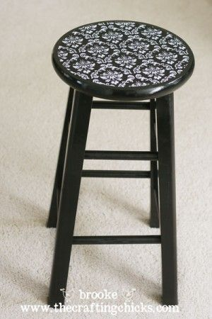 Kitchen bar stool makeover diy pinterest apartments kitchens do it yourself kitchen barstool makeover forrent apartment living blog solutioingenieria Choice Image