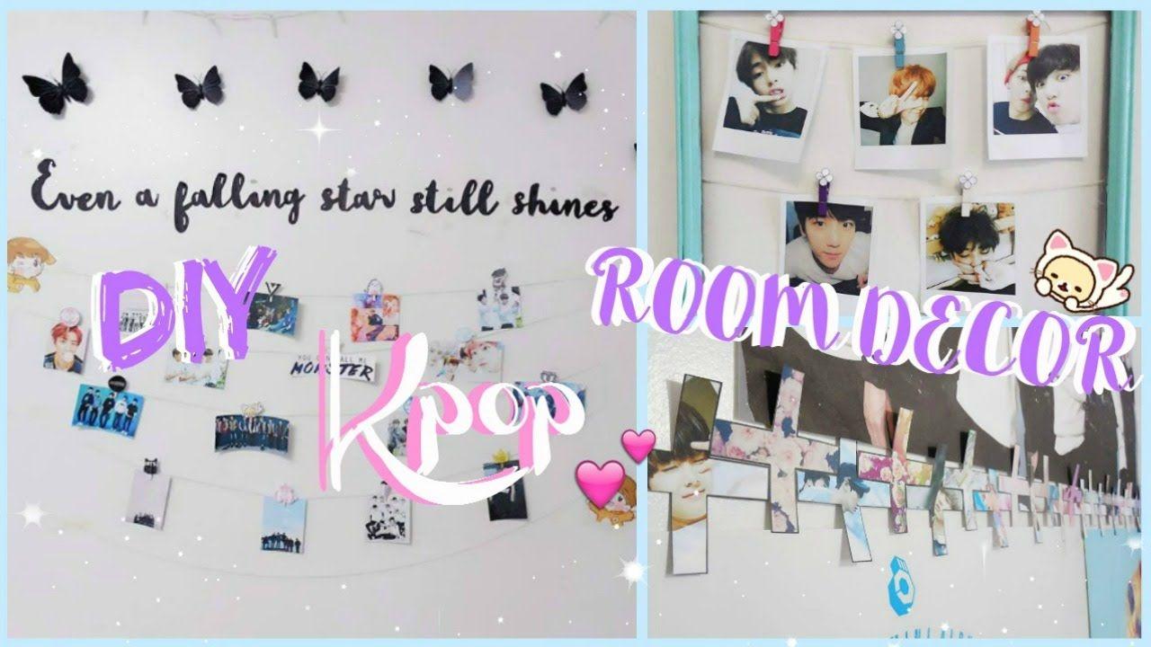 Diy Kpop Room Decor Bts Exo Edition House Repair 63947809