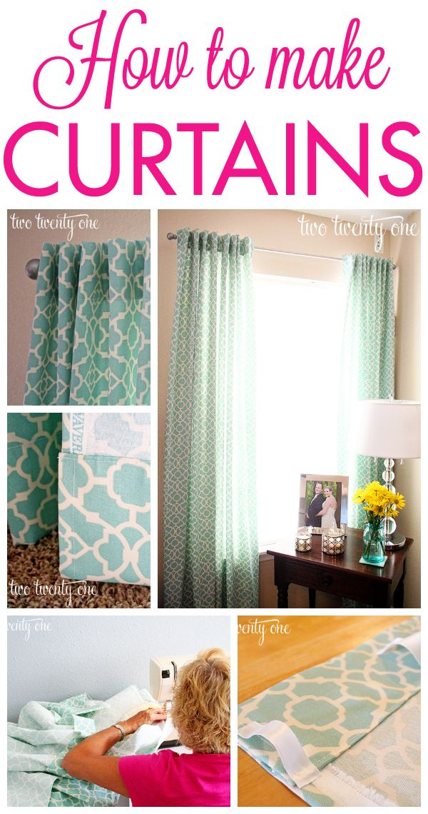 How To Make Curtains Step By Step Sewing Tutorial Diy Curtains