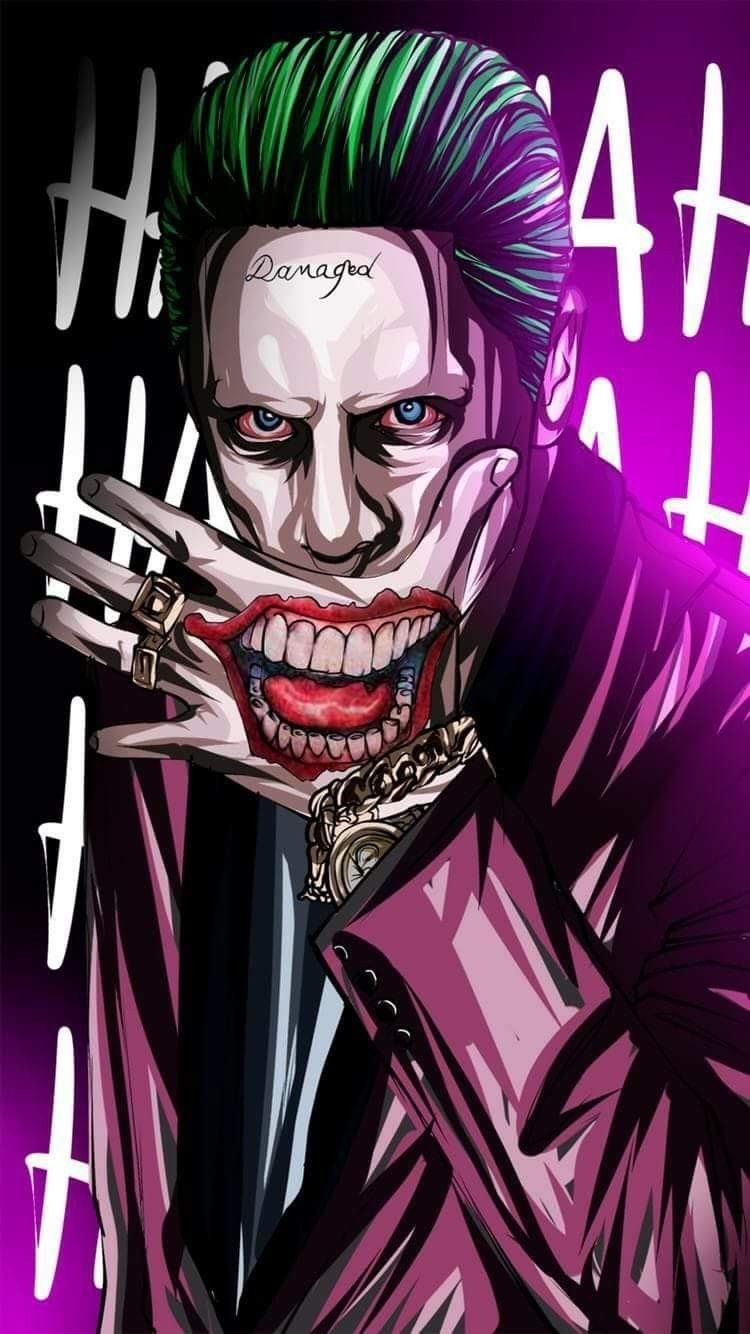 joker Karya Seni 3d Seni Gelap Gambar Serigala