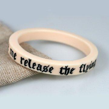 Don't make me release the flying monkeys...bracelet.