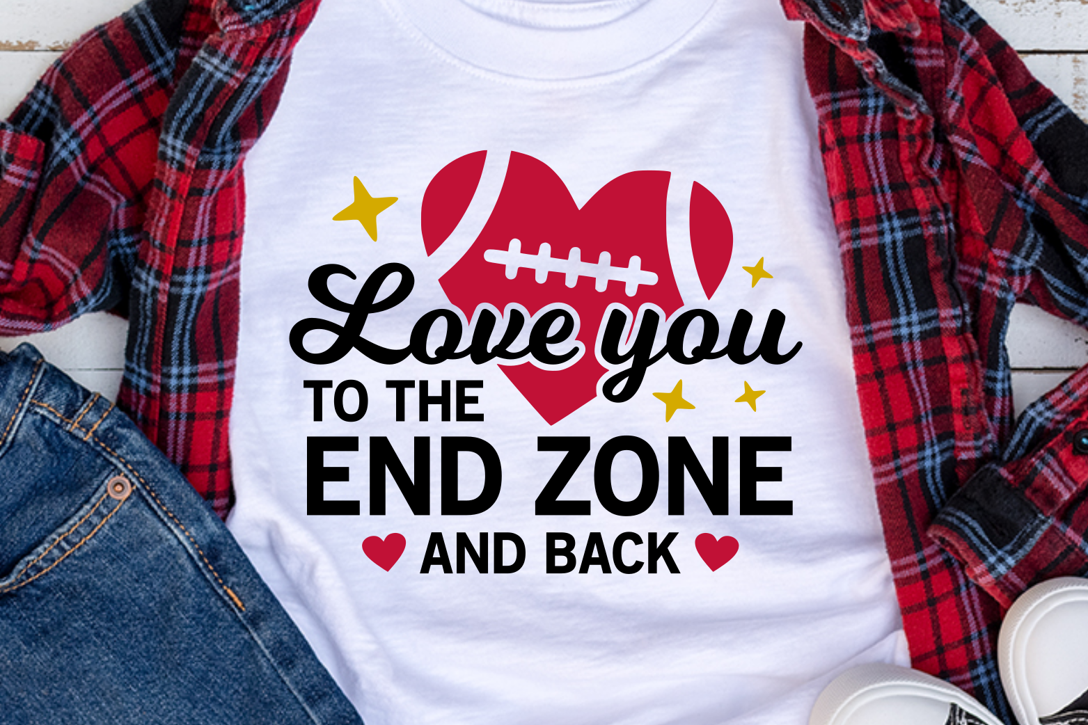 Download Love you to the end zone and back SVG   Silhouette ...