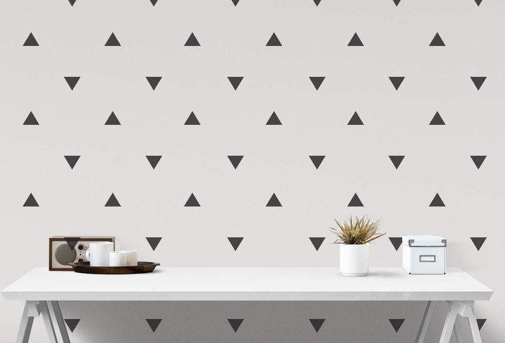 Nursery Wall Decals Triangle Stickers Wall Stickers Triangle