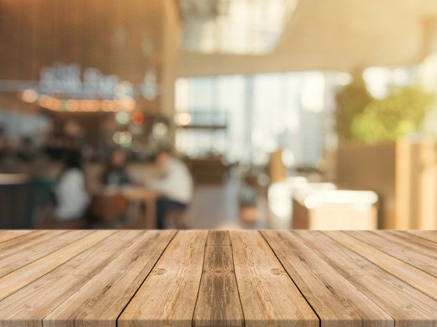 Download Wooden Board Empty Table Top On Of Blurred Background For Free Wood Table Background Blurred Background Kitchen Background
