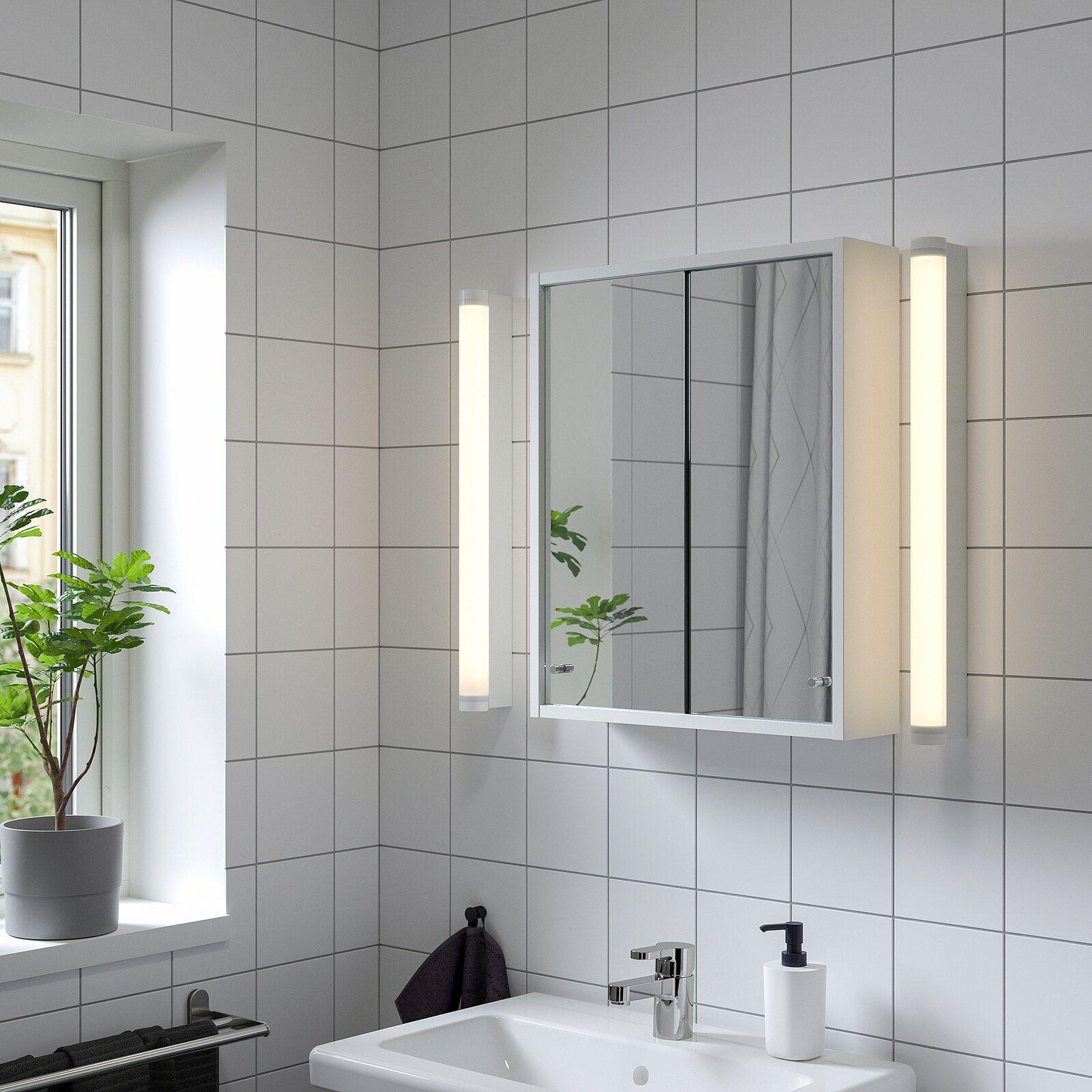 Nysjon Mirror Cabinet White 195 8x235 8 Ikea I 2021