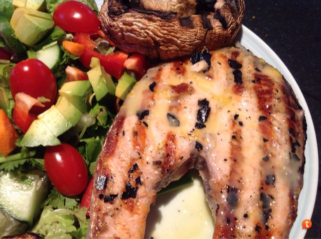 Bellesy's #Thermomix Salmon with Lime Butter Sauce - http://www.forumthermomix.com/index.php?topic=8734.0