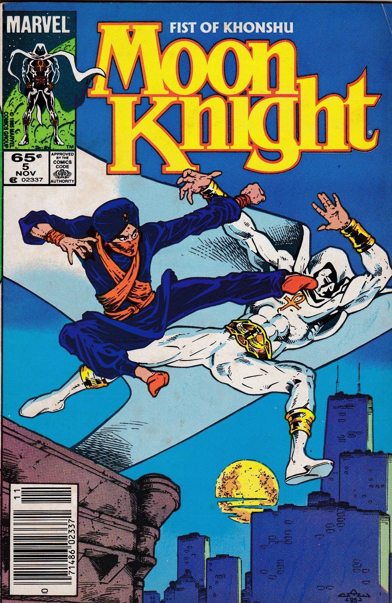 Moon Knight 5 Marvel Comics Vol. 2 Moon knight, Marvel