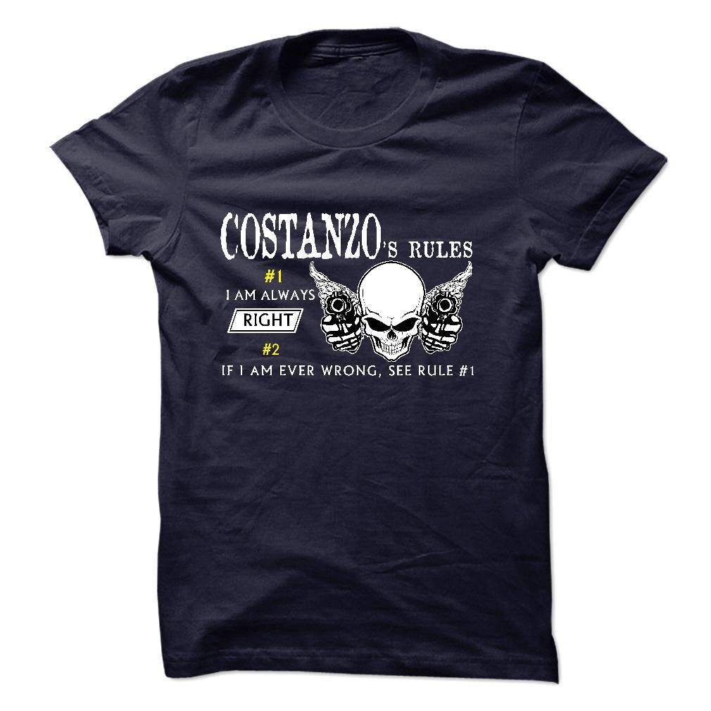 COSTANZO Rules 99/100 So Hot In T-Shirts, Hoodies. SHOPPING NOW ==► Funny Tee Shirts