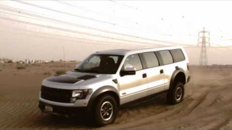 Ford Raptor Suv Concept Vehicle Sure Hope So Though It Would Be