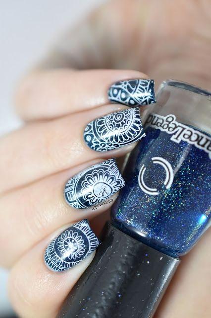 Bundle Monster Mochi Stamping Station Review Nail Art Video