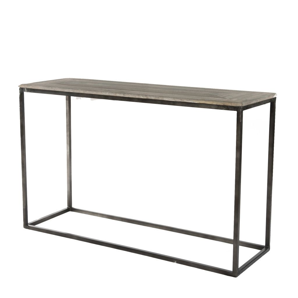 Appin console table the glen frew console table is crafted from an appin console table the glen frew console table is crafted from an iron frame that has the glengrey washconsole geotapseo Choice Image