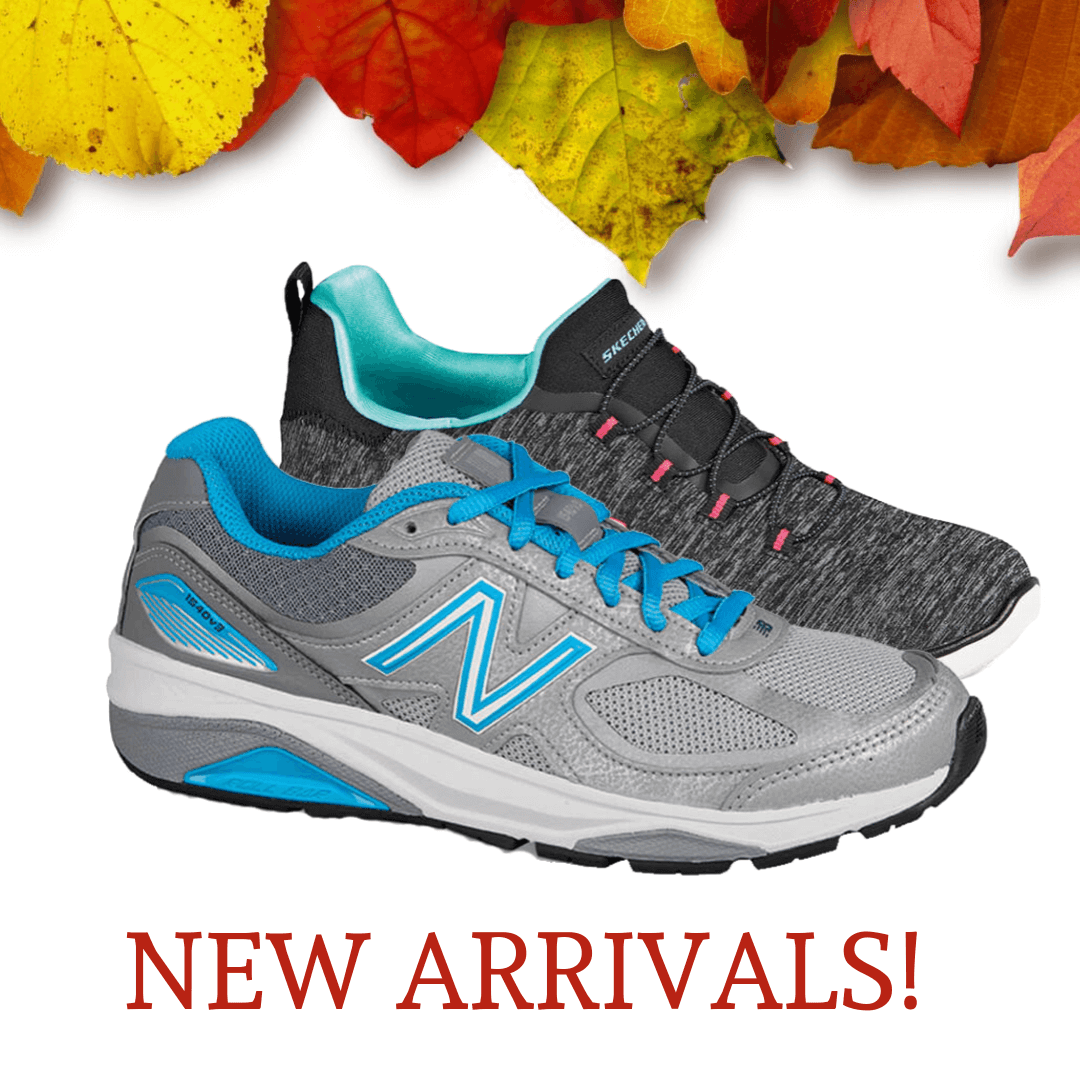 wide athletic shoes arriving weekly