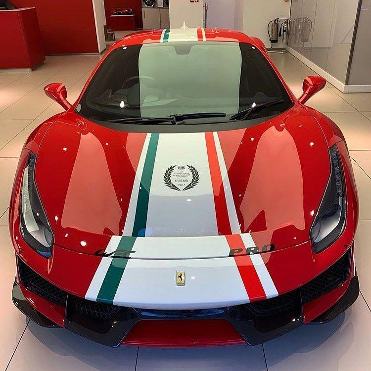 Beautiful Red Ferrari  #luxurycars Ferrari in the Italian flag colors  #luxuryferrari #carexterior ferrari #supercar