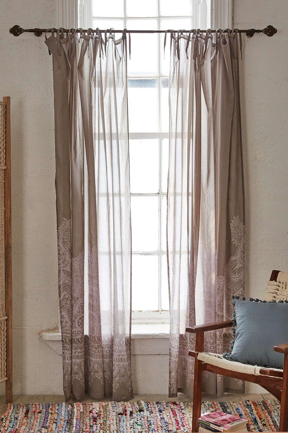 Plum u bow henna asha window curtain dorm room pinterest