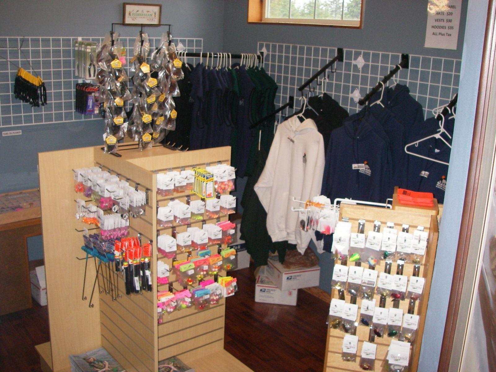 Glacier Bear Lodge Tackle Shop Tackle Shop Lodge Glacier