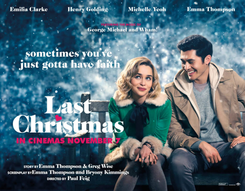 Win 1 Of 5 Double Movie Passes To Last Christmas Christmas Competitions Last Christmas