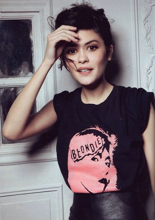 Audrey Tautou. Glamour Russia 2009.