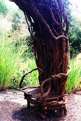 Laura Spector Rustic Design-Garden Art