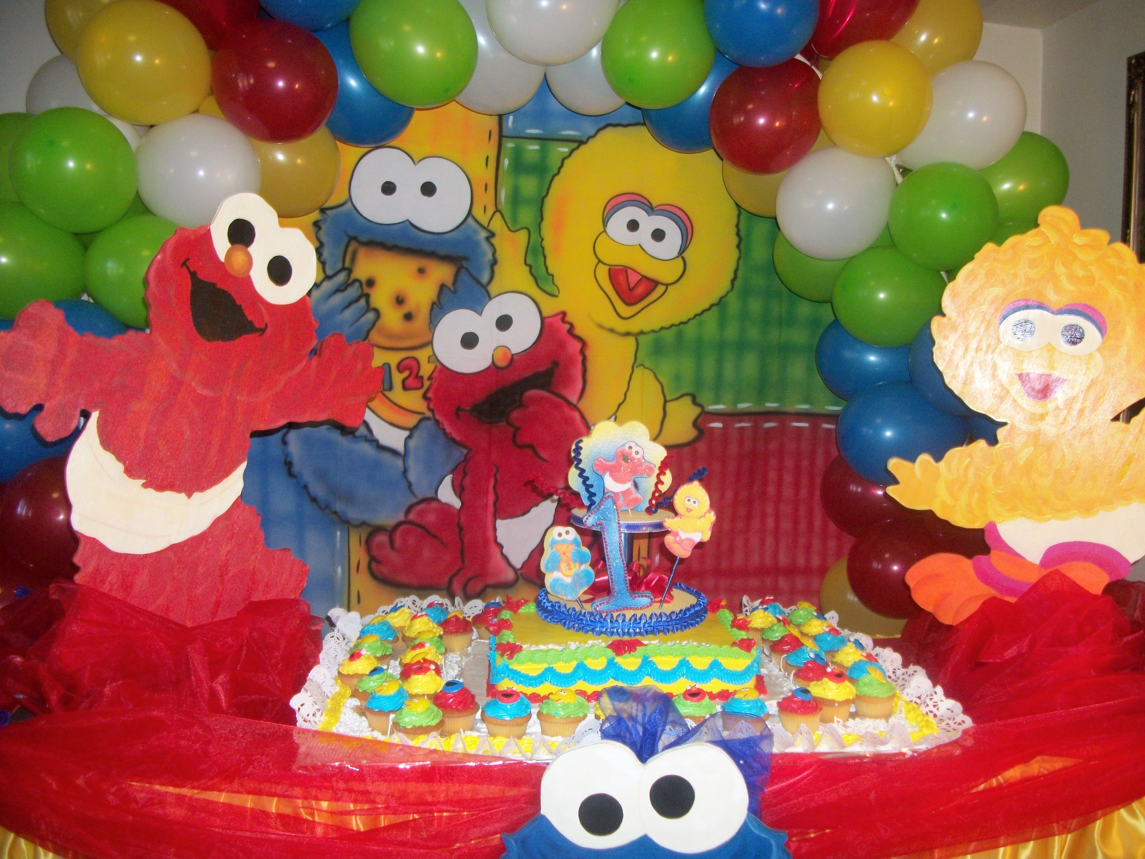 Pin By Debbie Walther On Baby Shower Ideas Sesame Street Birthday