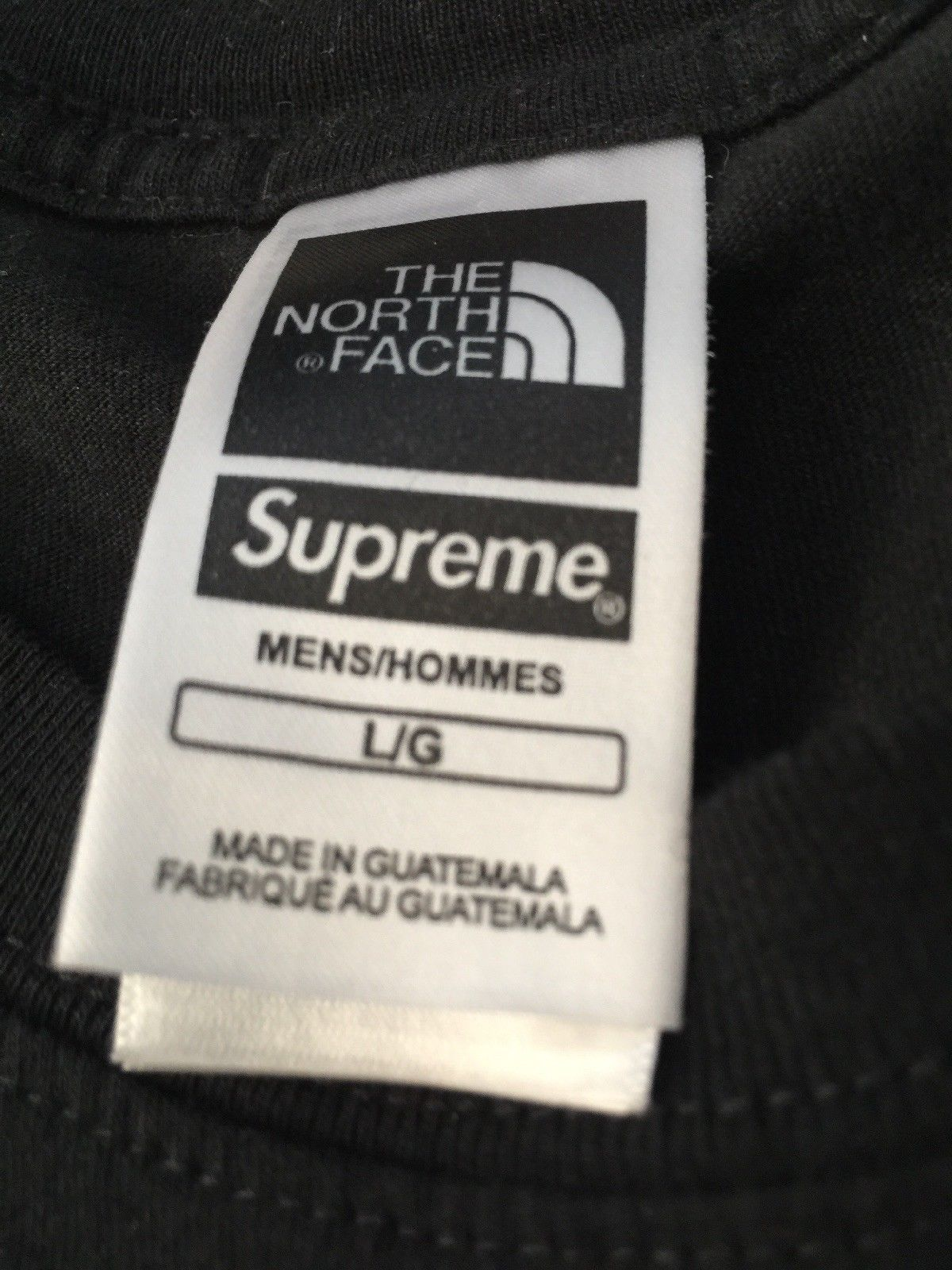 64fe18ae5 Details about Supreme x The North Face Metallic Logo Chrome T-Shirt ...